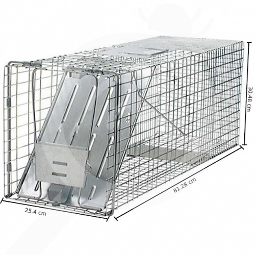 eu woodstream trap havahart 1079 one entry animal trap - 0