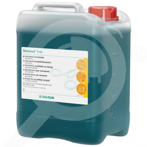 b braun disinfectant stabimed fresh 5 litres - 1