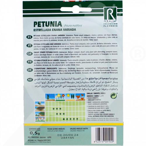 eu rocalba seed petunia estrellada enana 0 5 g - 0