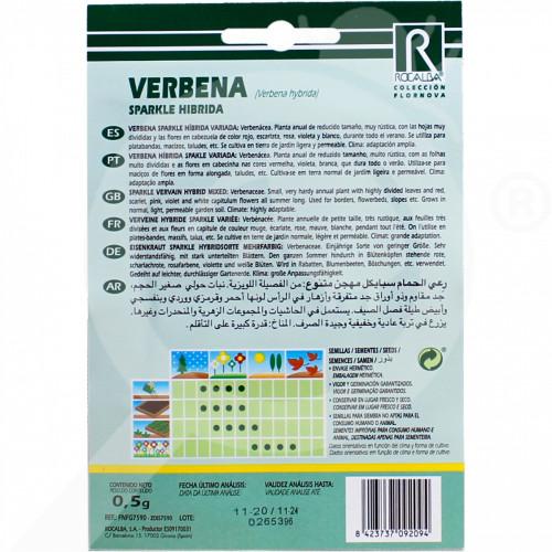 eu rocalba seed verbena sparkle hibrida 0 5 g - 0