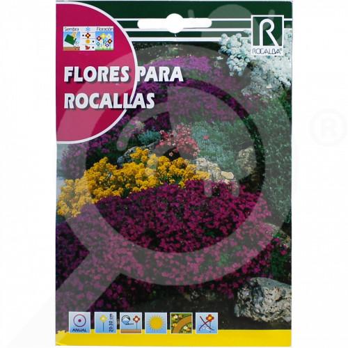 eu rocalba seed flores para rocallas 3 g - 0