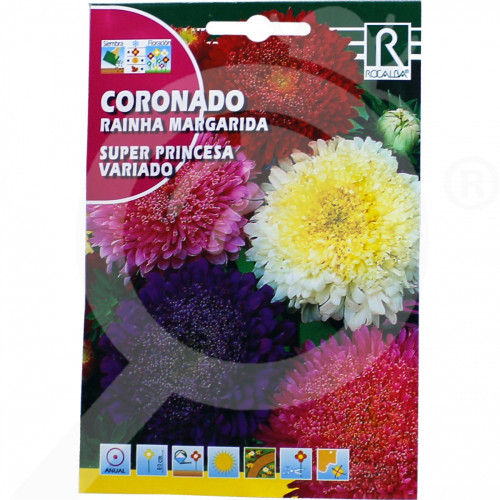 eu rocalba seed daisies super princesa variado 3 g - 0