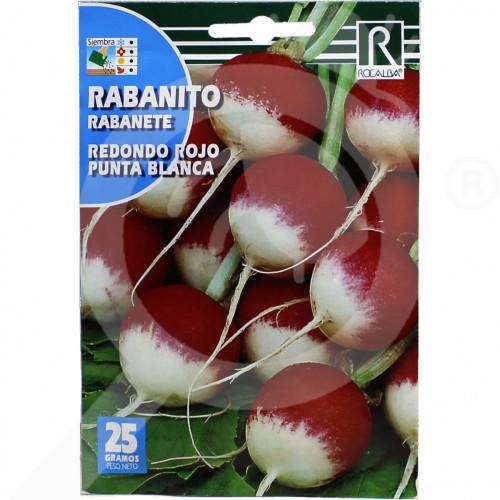 eu rocalba seed radish rojo punta blanca 25 g - 0