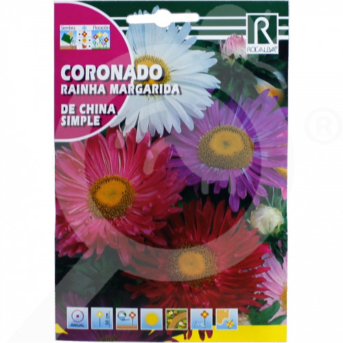 eu rocalba seed daisies coronado de china simple 6 g - 0