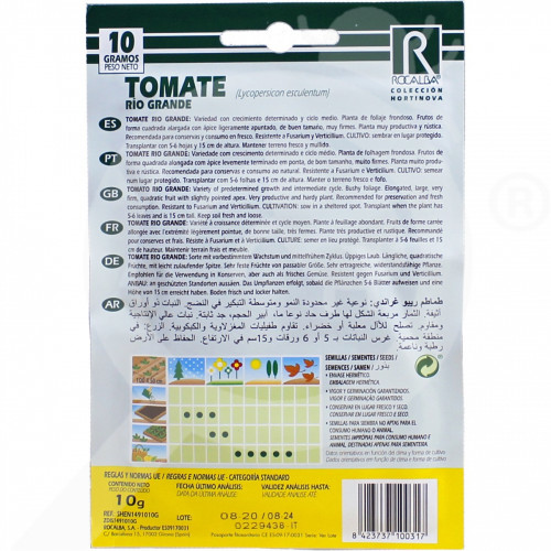 eu rocalba seed tomatoes rio grande 100 g - 0