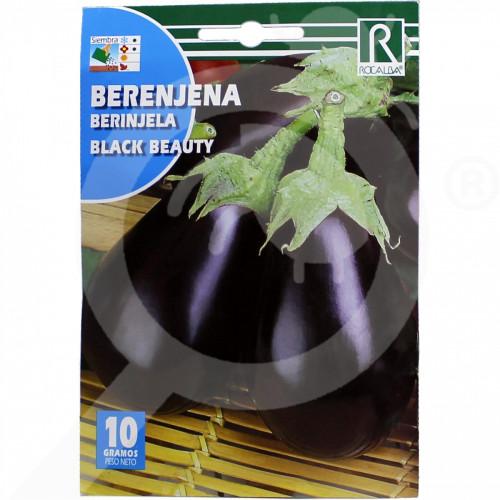 eu rocalba seed eggplant black beauty 100 g - 0