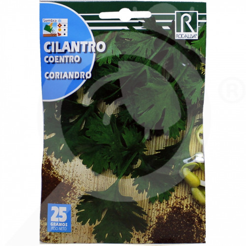 eu rocalba seed coriander coriandro 25 g - 0