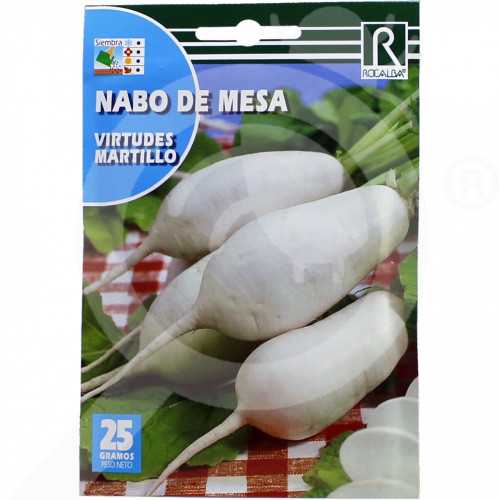 eu rocalba seed white radish virtudes martillo 25 g - 0