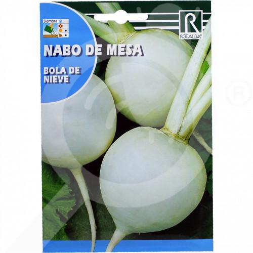 eu rocalba seed round white radish bola de nieve 10 g - 0