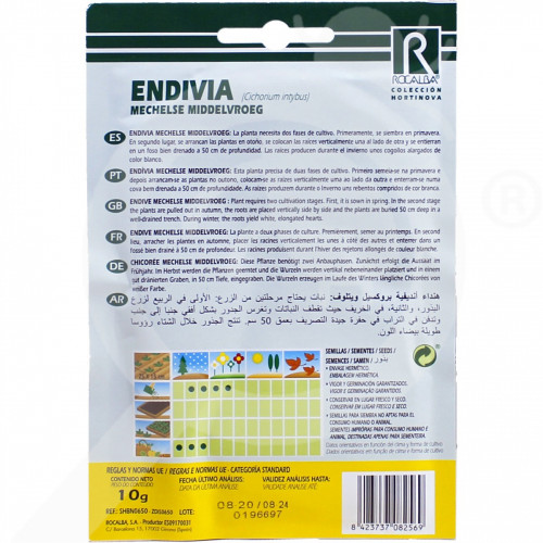 eu rocalba seed endive mechelse middelvroeg 25 g - 0