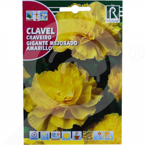 eu rocalba seed carnations gigante mejorado amarillo 1 g - 0