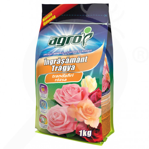 eu agro cs fertilizer organo mineral rose 1 kg - 0