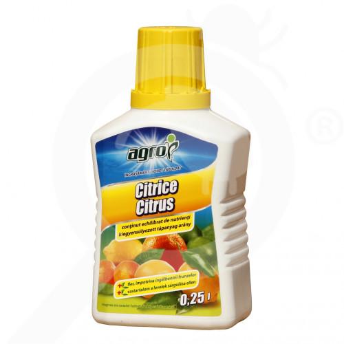 eu agro cs fertilizer citric liquid 250 ml - 0