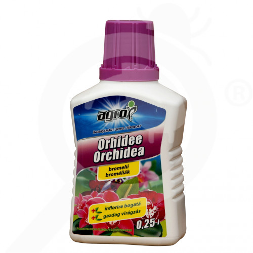 eu agro cs fertilizer orchid liquid 250 ml - 0