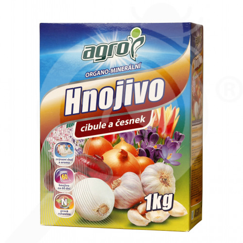 eu agro cs fertilizer organo onion garlic flower bulb 1 kg - 0