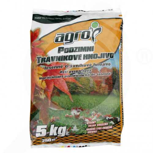 eu agro cs fertilizer grass autumn 5 kg - 0