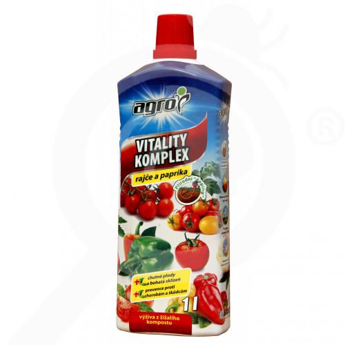 eu agro cs fertilizer vitality komplex tomato pepper 1 l - 0