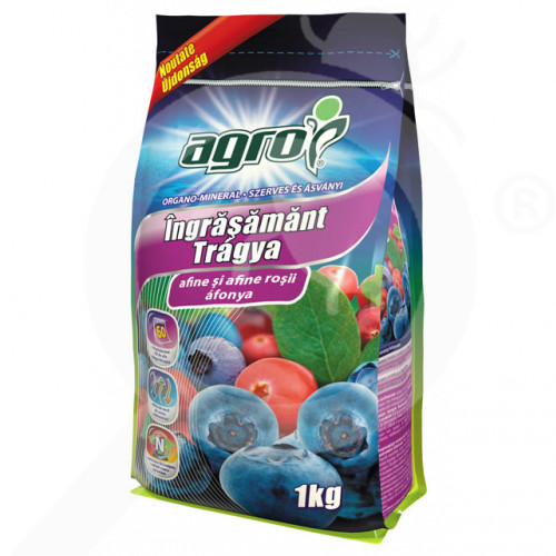 eu agro cs fertilizer organo mineral blueberry 1 kg - 0