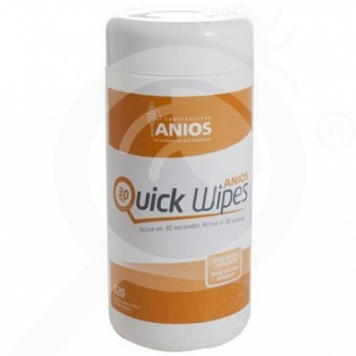 eu anios laboratoires disinfectant quick wipes 120 wipes - 1
