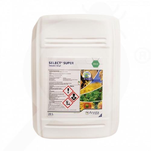 eu arysta lifescience herbicide select super 20 l - 0