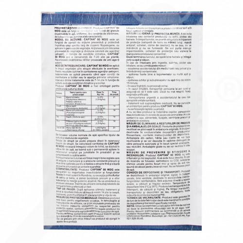 eu arysta lifescience fungicide captan 80 wdg 25 g - 1