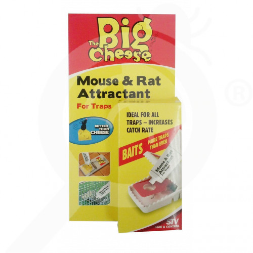 stv trap big cheese 163 rodent attractant - 2