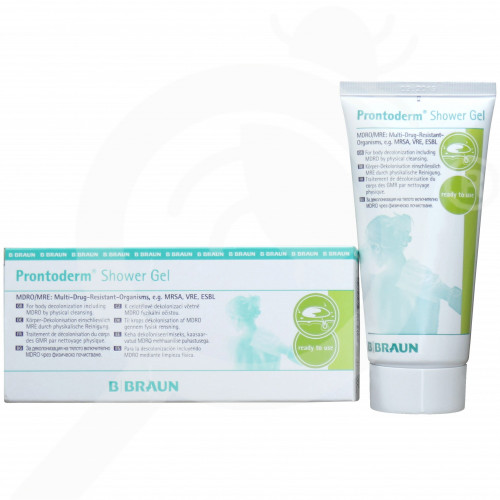 b braun disinfectant prontoderm shower gel 100 ml - 3