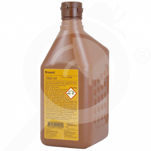 b braun disinfectant braunol 1 litre - 1