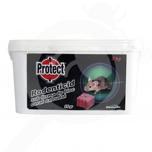 eu babolna bio rodenticide protect wax block 3 kg - 4