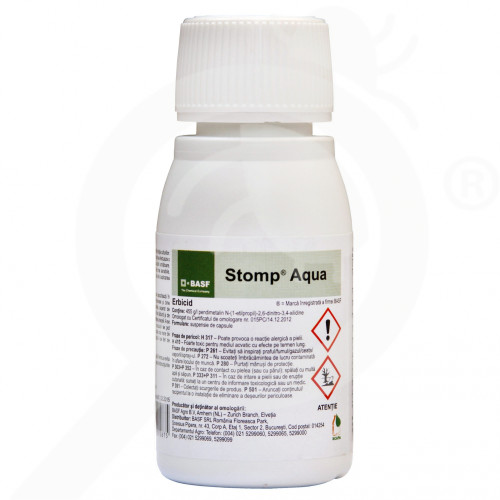 eu basf erbicid stomp aqua 50 ml - 1