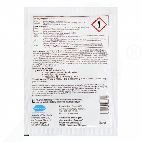 eu bayer fungicid aliette wg 80 20 g - 2