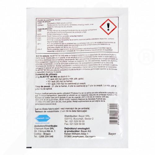 eu bayer garden fungicid aliette wg 80 plic 20 g - 2