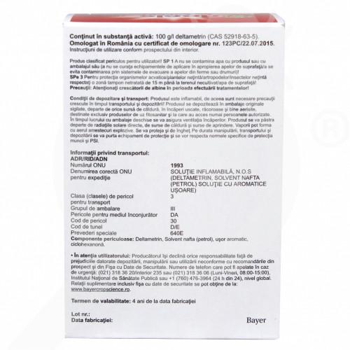 eu bayer insecticid agro decis expert 100 ec 7.5 ml - 1