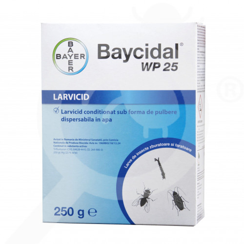 bayer larvicide baycidal wp 25 250 g - 3
