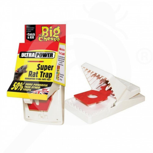 stv trap big cheese ultra power 108 rat trap - 3