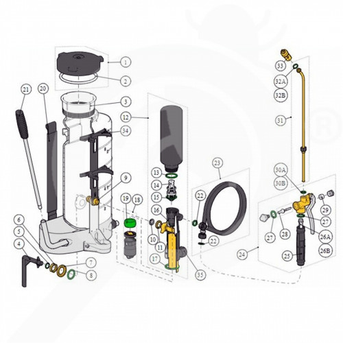 eu birchmeier sprayer manual spray matic 10 b - 1