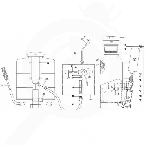 eu birchmeier accessory iris 15 gasket set pump tank - 3