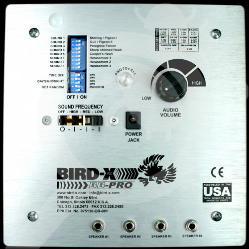 bird x repellent broad band pro - 1