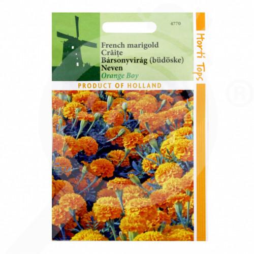 eu pieterpikzonen seed tagetes patula petit orange 0 75 g - 1