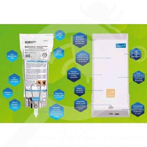 bochemie disinfectant septoderm gel 1 litre - 2