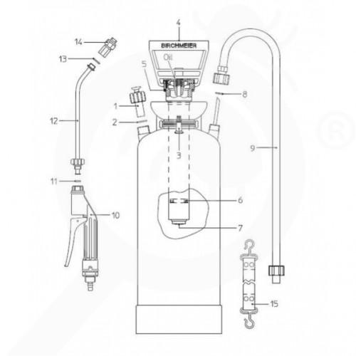 eu birchmeier accessory profi star 5 spray matic 5p gasket set - 3