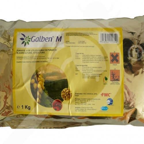 eu fmc chemicals fungicid galben m 1 kg - 1