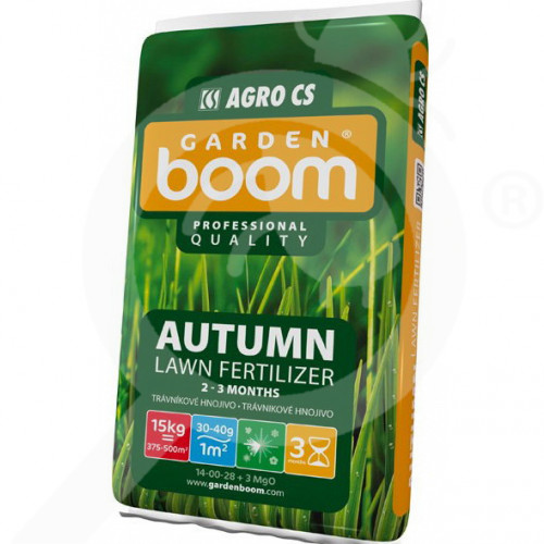 eu garden boom fertilizer autumn 14 00 28 3mgo 15 kg - 0