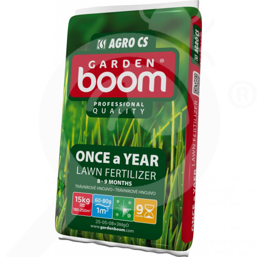 eu garden boom fertilizer once a year 25 05 08 3mgo 15 kg - 0