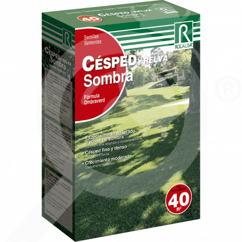 eu rocalba lawn seeds area with shadow 1 kg - 0