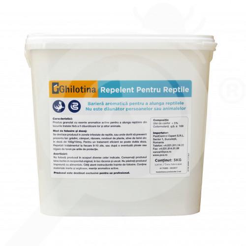 ghilotina repellent reptiles 5 kg - 7