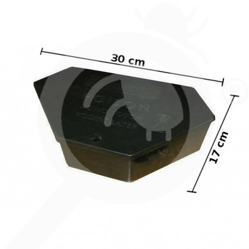 ghilotina bait station s30 catz pro box - 2