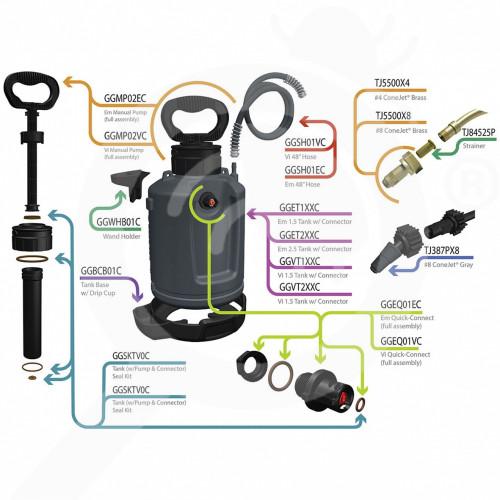 Green Gorilla ProLine Vi Pro System, 5.7 liters