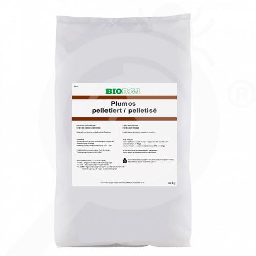 eu hauert fertilizer biorga plumos 25 kg - 0