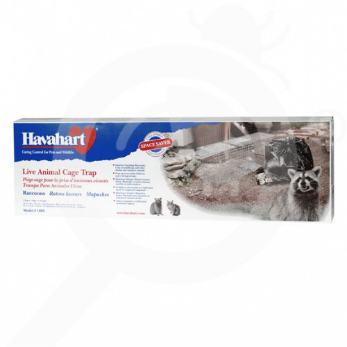 havahart 1089 collapsible animal trap - 1